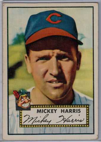1952 Topps Baseball #207 Mickey Harris $10.00