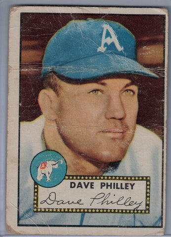1952 Topps Baseball #226 Dave Philley $6.00