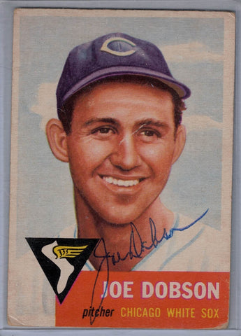 1953 Topps #  5 Joe Dobson signed $35.00