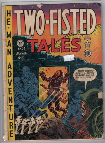 Two Fisted Tales Issue # 22 Entertaining Comics $39.00