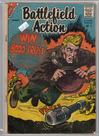 Battlefield Action Issue # 23 Charlton Comics $12.00
