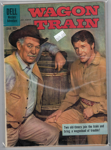 Wagon Train Issue # 4 Dell Comics $15.00
