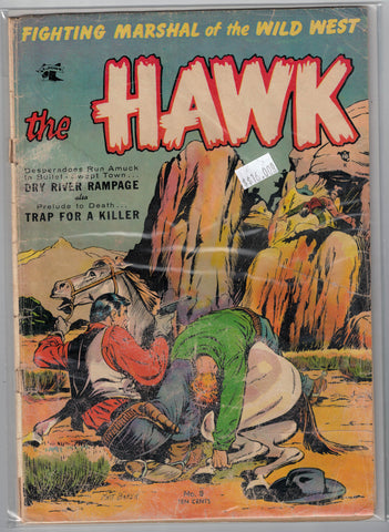Hawk Issue #  9 (Sep 1954) St. Johns Comics $16.00