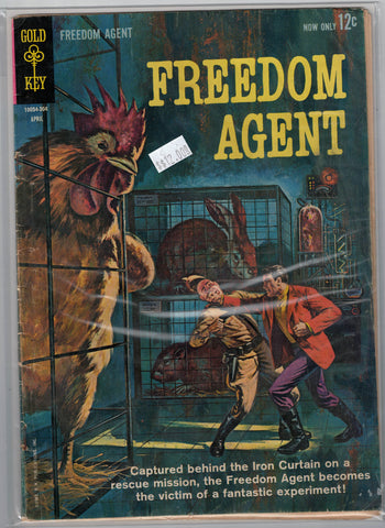 Freedom Agent Issue #  1 Gold Key Comics $12.00