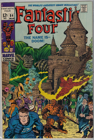 Fantastic Four Issue #  84 Marvel Comics $18.00