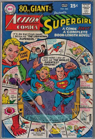 Action Comics Issue #360 DC Comics $35.00