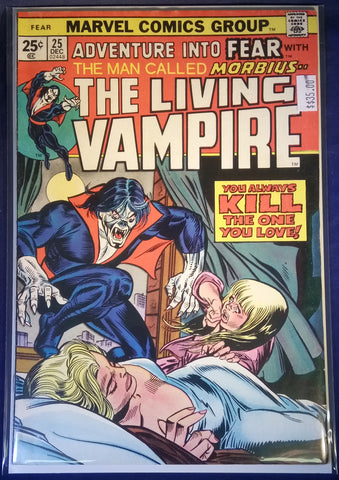 Adventure into Fear Issue # 25 Marvel Comics $35.00
