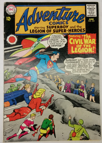 Adventure Comics Issue #333 DC Comics  $17.00