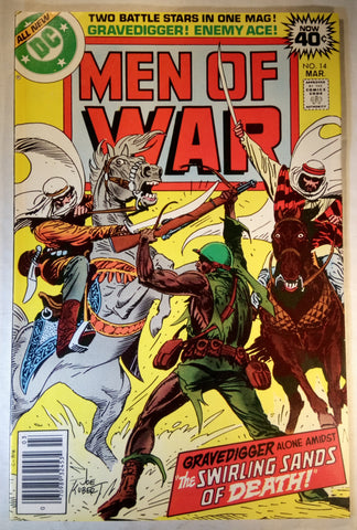 Men Of War Issue # 14 DC Comics $10.00