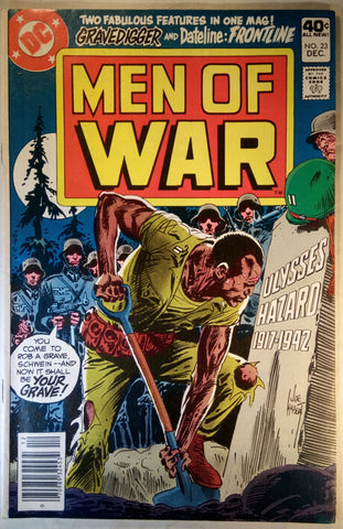 Men Of War Issue # 23 DC Comics $11.00
