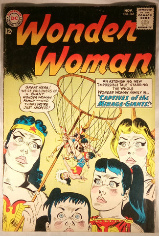 Wonder Woman Issue # 142 DC Comics $30.00