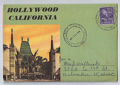 Vintage Postcard Pack of Hollywood California $10.00