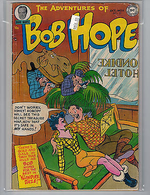 Adventures of Bob Hope #17 (Oct-Nov 1952) DC Comics $56.00