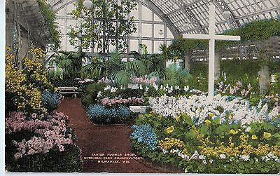 Vintage Postcard of Mitchell Park Conservatory Milwaukee, WI $10.00