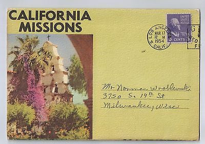 Vintage Postcard Pack of California Missions $10.00