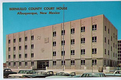 Vintage Postcard of Bernilillo County Court House Albuquerque, New Mexico $10.00