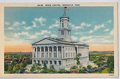 Vintage Postcard of The State Capitol, Nashville, TN $10.00