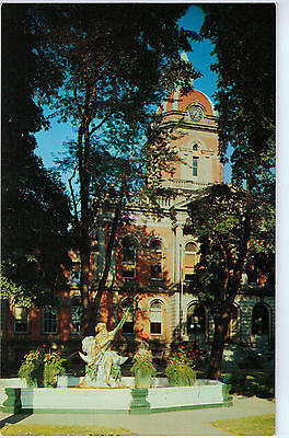 Vintage Postcard of The Courthouse in Goshen, Indiana $10.00