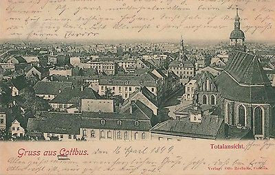 1899 Cottbus Germany Postcard $15.00