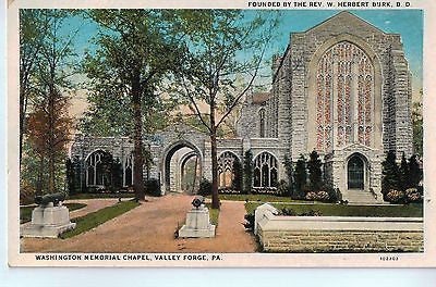 Vintage Postcard of Washington Memorial Chapel, Valley Forge, PA $10.00