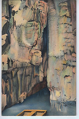 Vintage Postcard of Crystal Lake in Mammoth Cave, KY $10.00