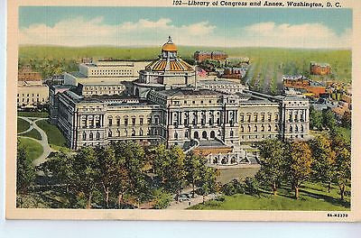 Vintage Postcard of Library of Congress and Annex, Washington D.C. $10.00