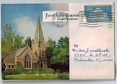 Vintage Postcard Pack of Forest Lawn Memorial Glendale, California $10.00