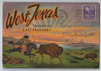 "Vintage Postcard Pack of West Texas ""America's Last Frontier!"" $10.00"