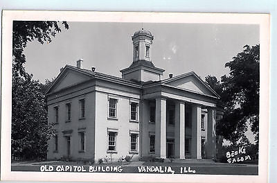 Vintage Postcard of The Old Capitol Building in Vandalia, IL $10.00