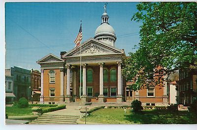 Vintage Postcard of The Augusta County Courthouse in Staunton, Virgina $10.00