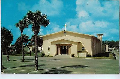 Vintage Postcard of St. John's Catholic Church, St. Petersburg, FL $10.00
