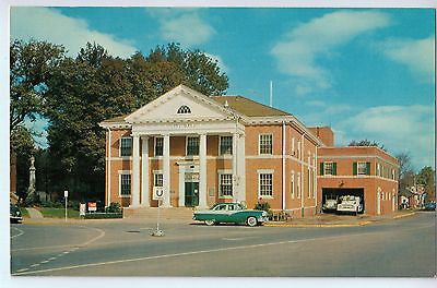 Vintage Postcard of The Cedartown City Hall in Cedartown , Georgia $10.00