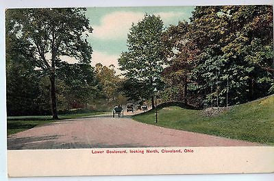 Vintage Postcard of Lower Boulevard, looking North, Cleveland, OH $10.00