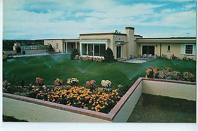 Vintage Postcard of The Governor's Mansion in Sante Fe, New Mexico $10.00