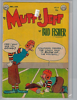 Mutt & Jeff #61 (Dec 1952-Jan 1953) DC Comics $25.00