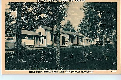 Vintage Postcard of Shady Grove Tourist Court, Near North Little Rock, AR $10.00