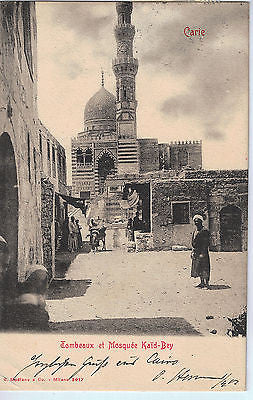 Vintage Postcard of Fombeaux et Mosquee Kaid-Bey, Eygpt $10.00