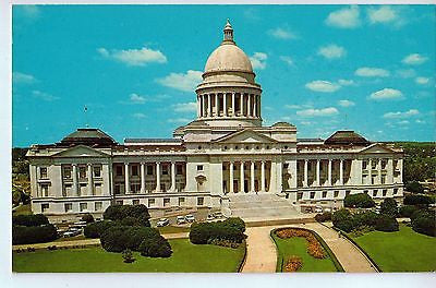 Vintage Postcard of The Arkansas State Capitol Little Rock, AR $10.00