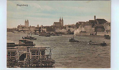 1910 German picture Postcard of Magdeburg $15.00