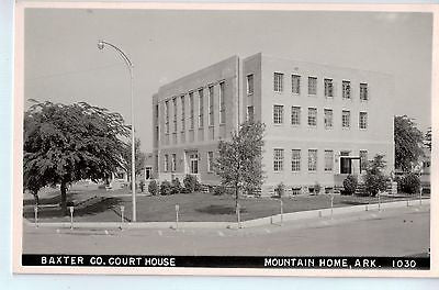 Vintage Postcard of Baxter County Court House-Mountain Home, AR $10.00