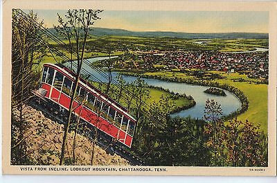 Vintage Postcard of Vista From Incline, Lookout Mountain, Chattanooga, TN $10.00