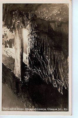Vintage Postcard of The Capitol Dome, Diamond Caverns, Glasgow Junction, KY $10.00