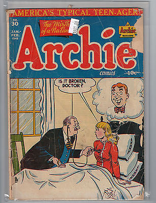 Archie Comics Issue #  30  (Jan - Feb 1948) $81.00
