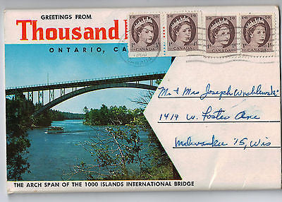 Vintage Postcard Pack of Thousand Island Ontario, Canada $10.00