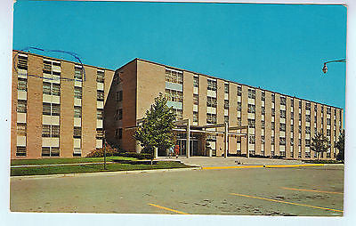 Vintage Postcard of Estelle Downing Hall Eastern MI University $10.00