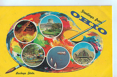 "Vintage Postcard ""Greetings from Ohio"" $10.00"