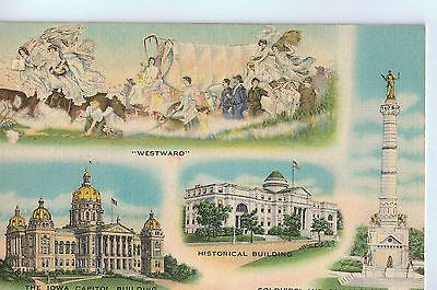 "Vintage Postcard of ""In All That Is Good, Iowa Affords the Best"" $5.00"