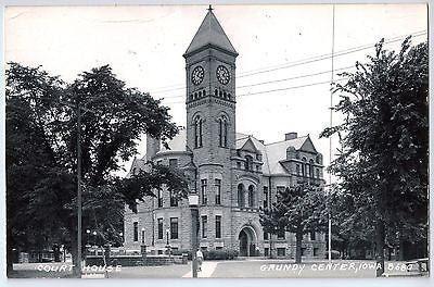 Vintage Postcard of The Court House in Grundy Center, Iowa $10.00