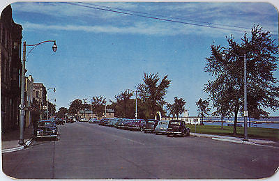 Vintage Postcard of Sheridan Road, Menominee, MI $10.00