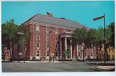 Vintage Postcard of Cumberland County Court House in Carlisle, PA $10.00